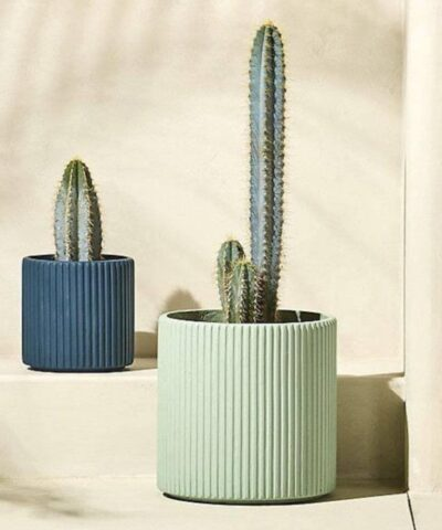 Teal & Blue Planter - Wow Things