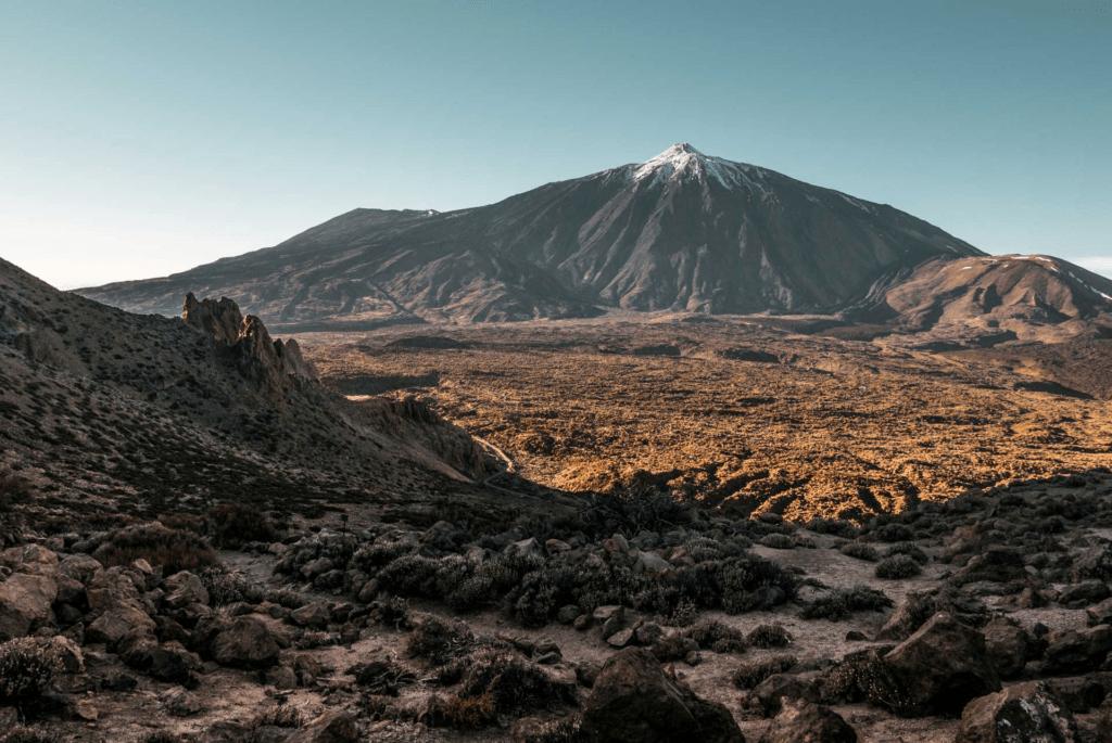 El Teide met links de Pico Viejo