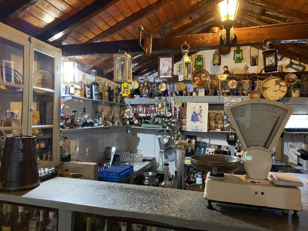 Bijkeukentje/museum van restaurant la Montaña