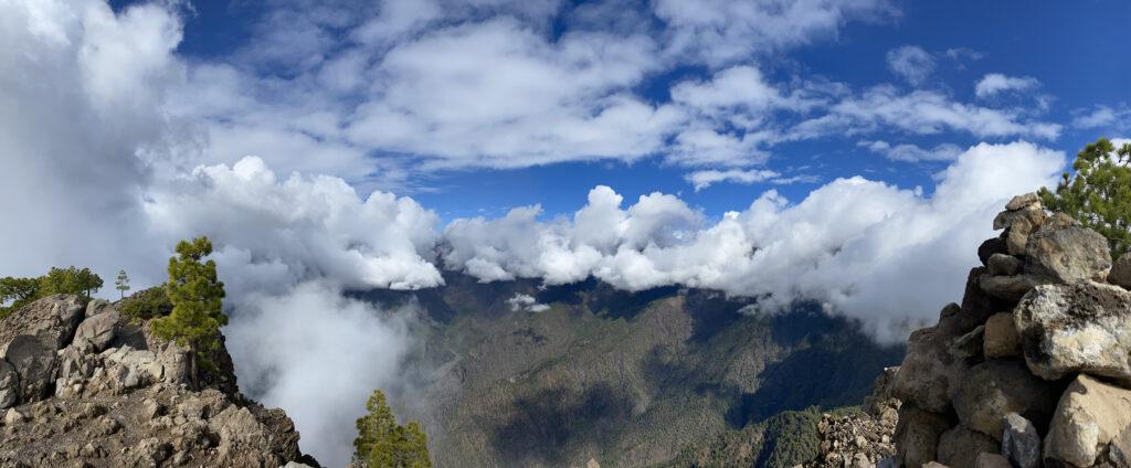 Uitzicht van top Pico Bejenado
