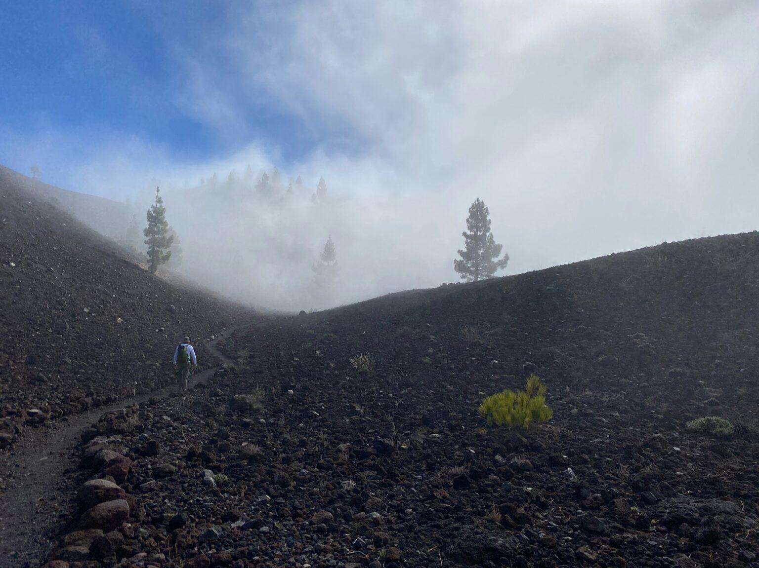 Cumbre Vieja - de mist trekt weg
