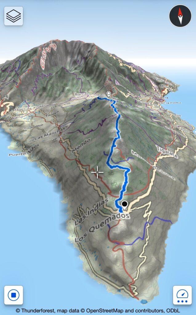 GR131 - schermafbeelding van Maps3D app