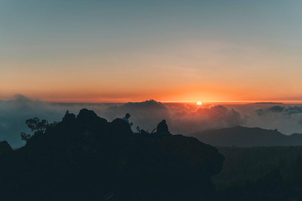Zonsopkomst op de Teide