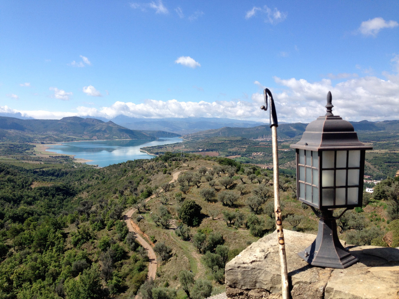 Uitzicht op El Cinque Llac