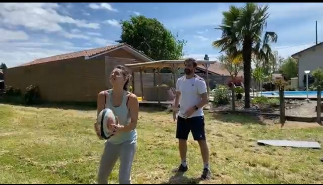 14. 6 Exercises For Catch The High Ball By 2 At Home