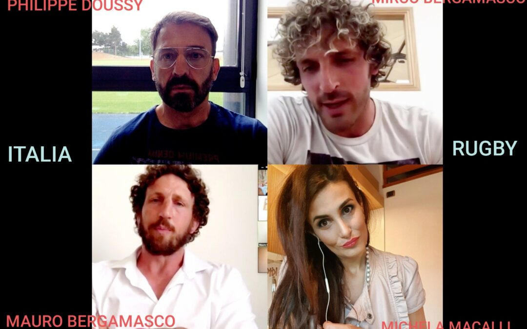 22. ITALRUGBY: 2 BERGAMASCO, DOUSSY & MACALLI