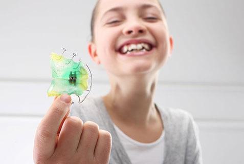 Brace denture repair