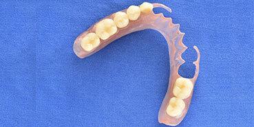 Flexible denture repair services