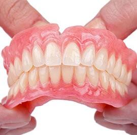 False teeth London