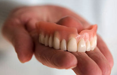 Flexible denture repair services
