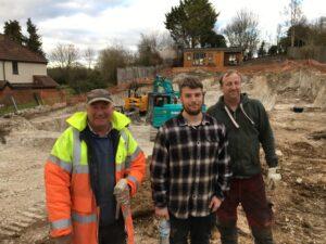 The G E Groundworks team