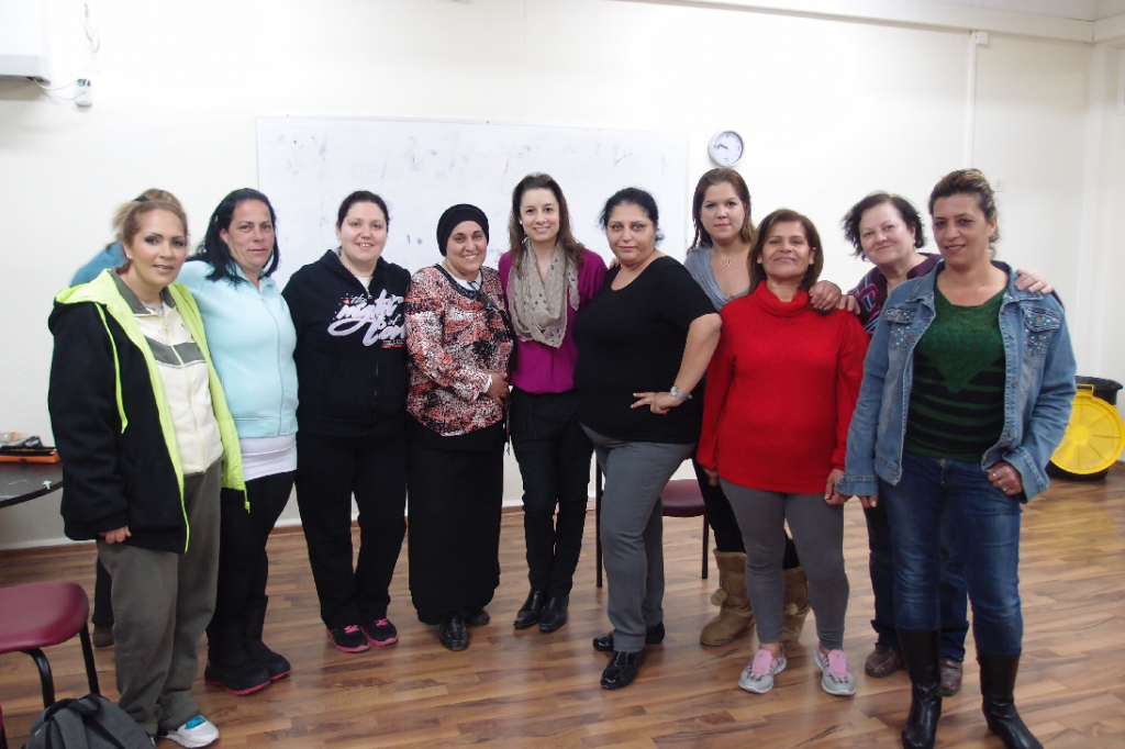 סדנת תדמית ומיתוג אישי במועדון נשים חד הוריות עיריית בת ים רותי טרבס