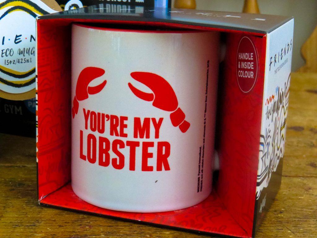 you're my lobster mug