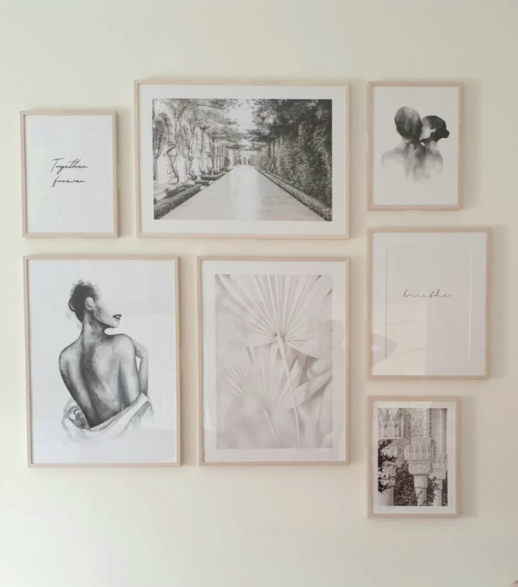gallery wall art from desenio