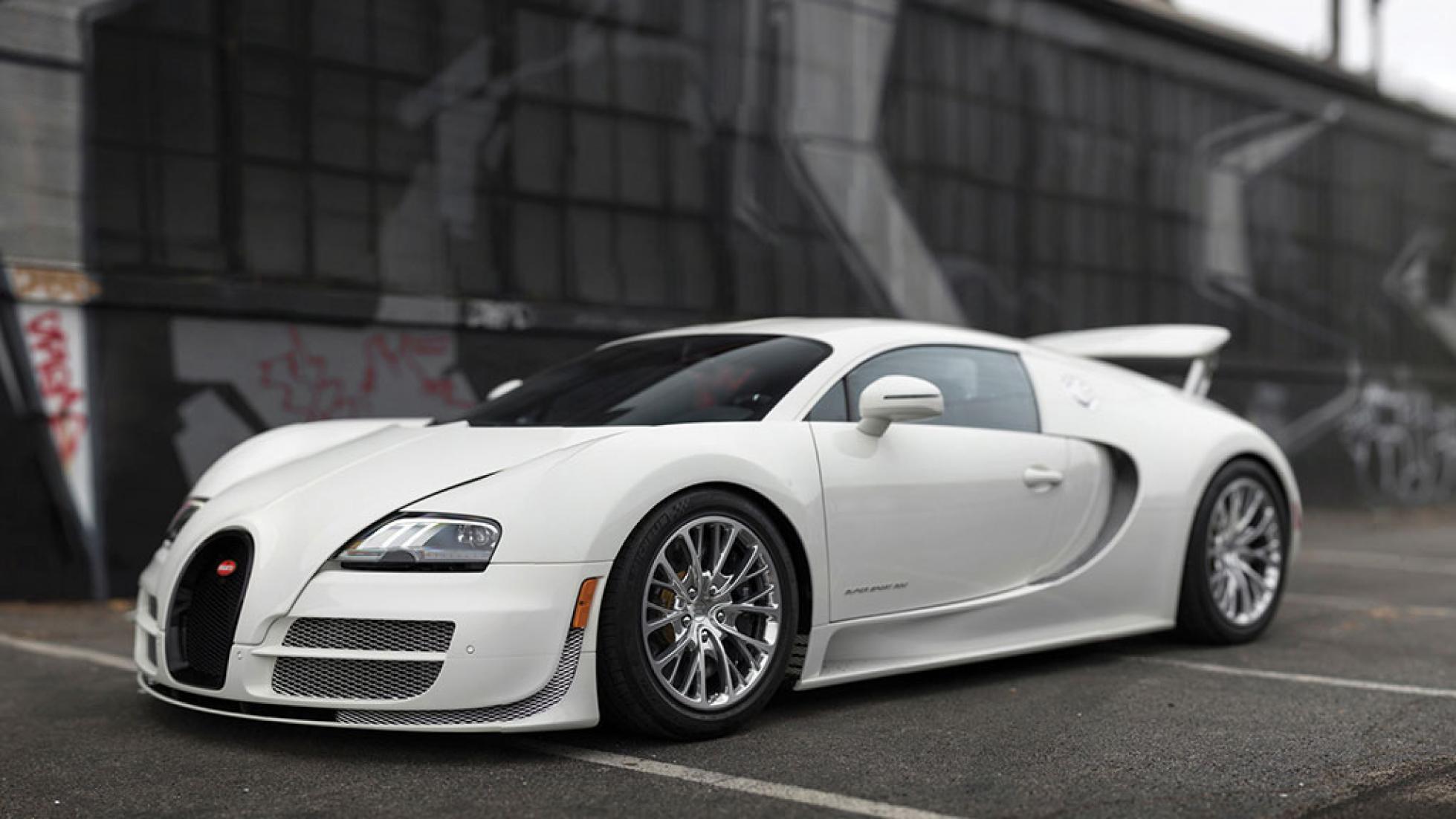 Bugatti Veyron Supersport 300
