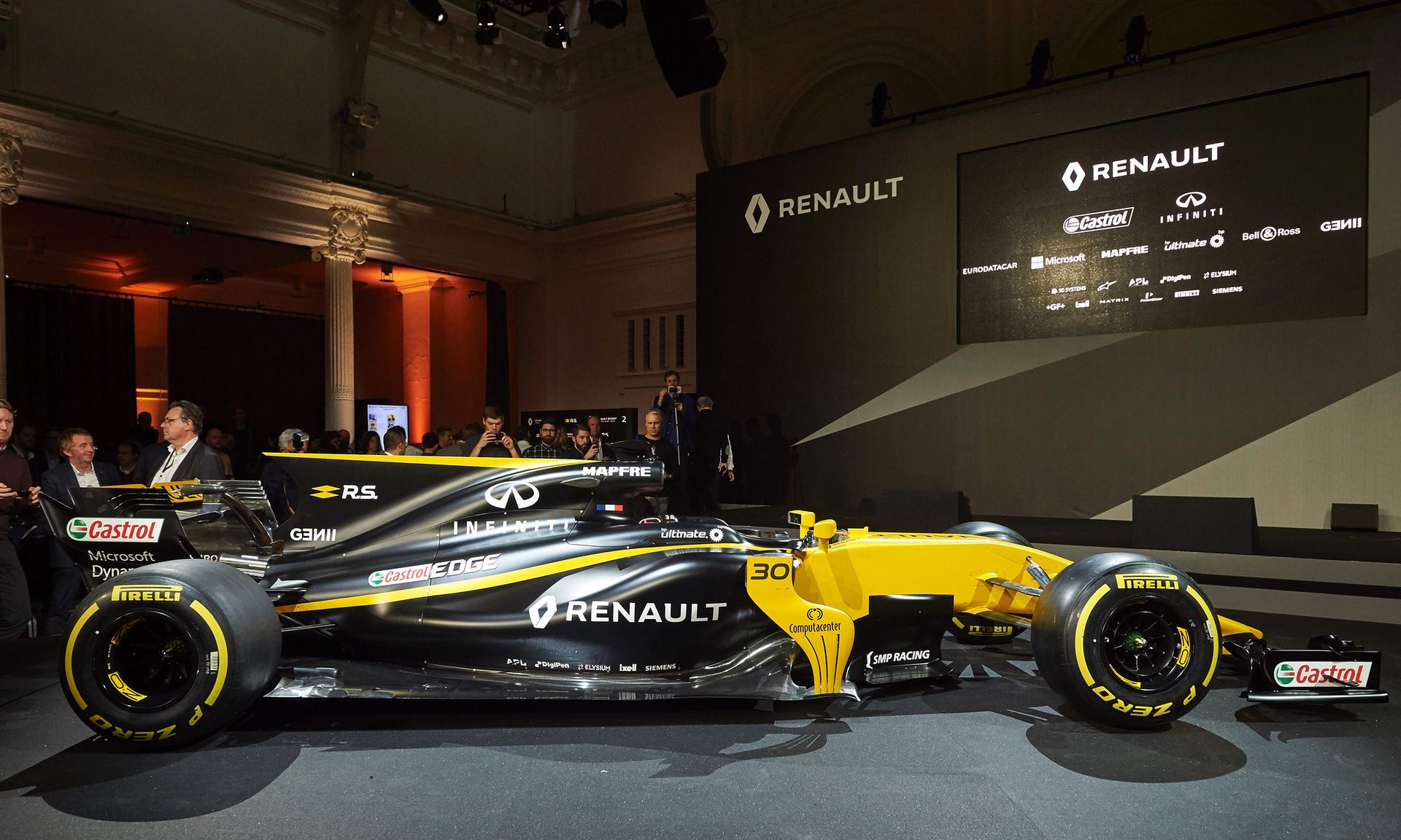 2017 f1 car
