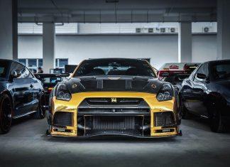 Nissan GTR R35 Gold