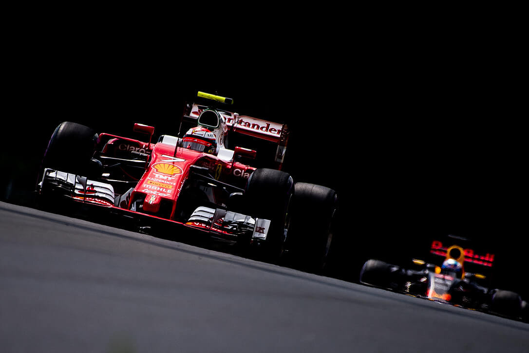 Ferrari RedBull Mercedes 2017