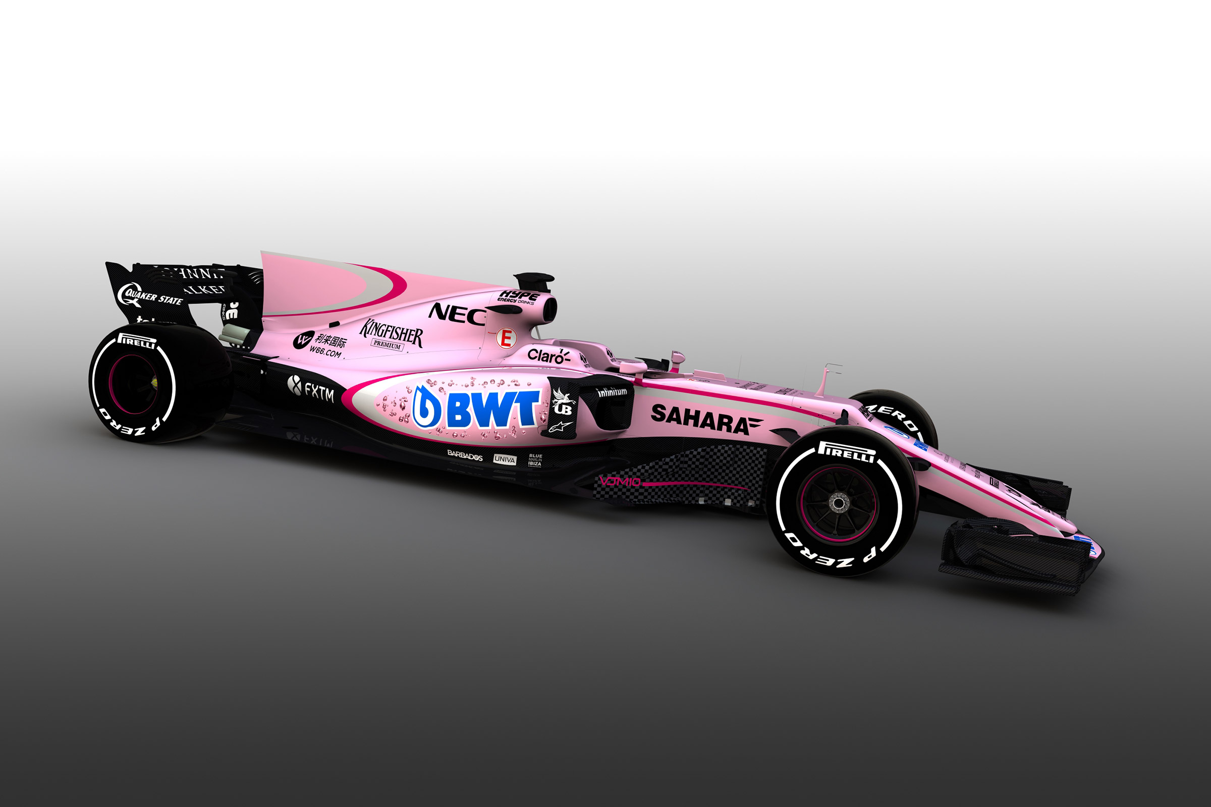 Force India Pink