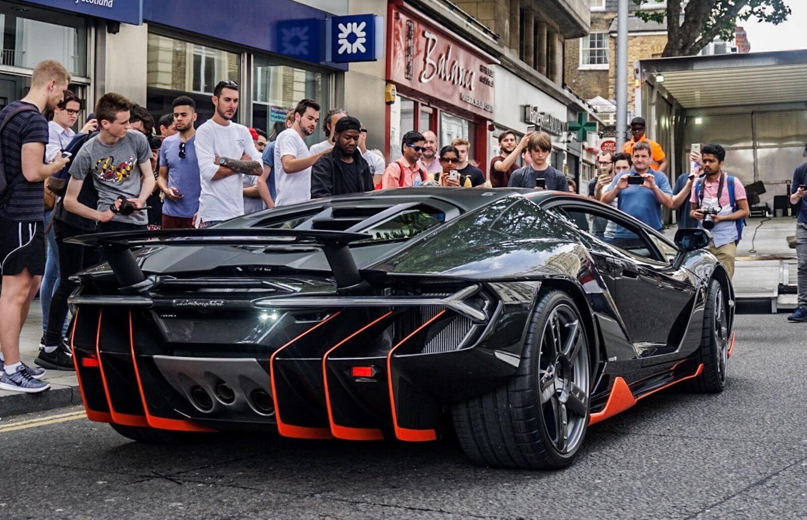 Lamborghini Centenario London