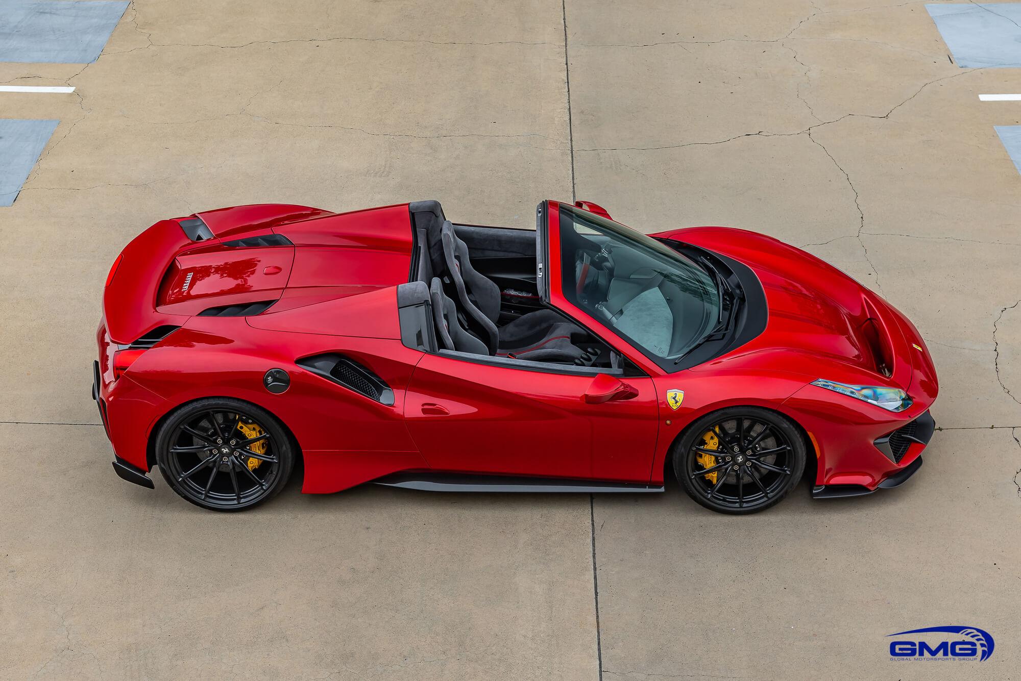 Ferrari 488 Pista Spider Rosso Fuoco