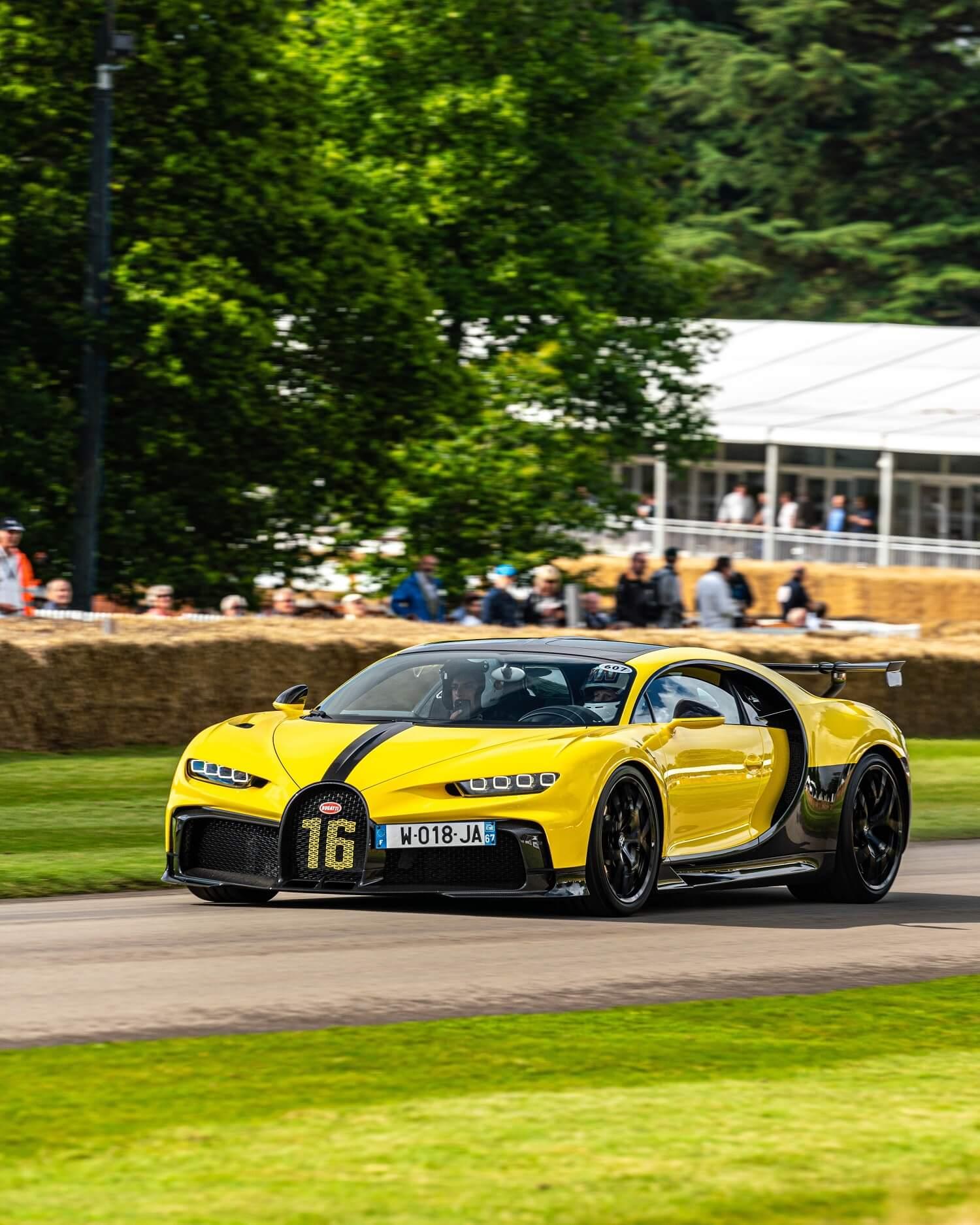 Bugatti Chiron Pur Sport Festival Of Speed