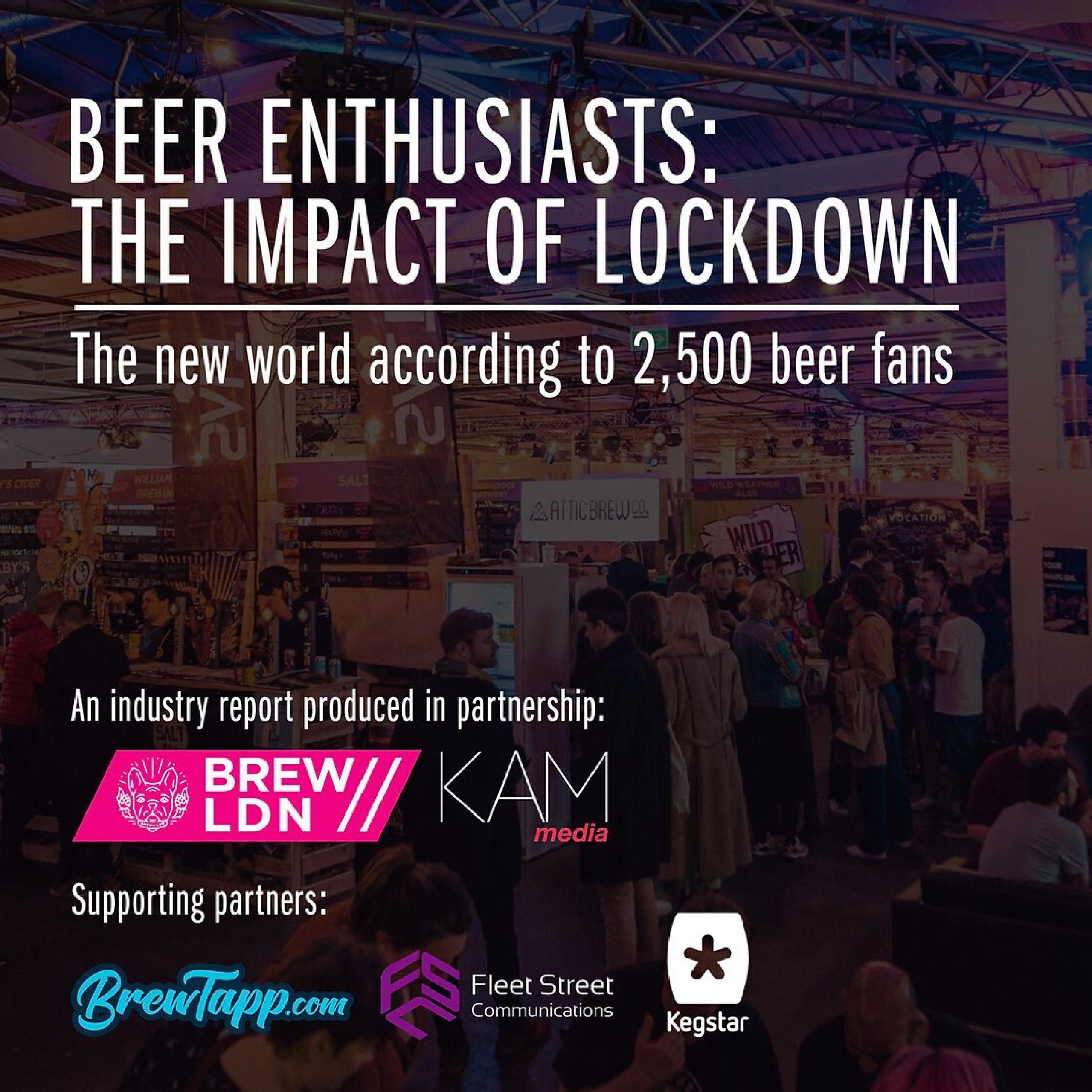 beer drinkers in lockdown
