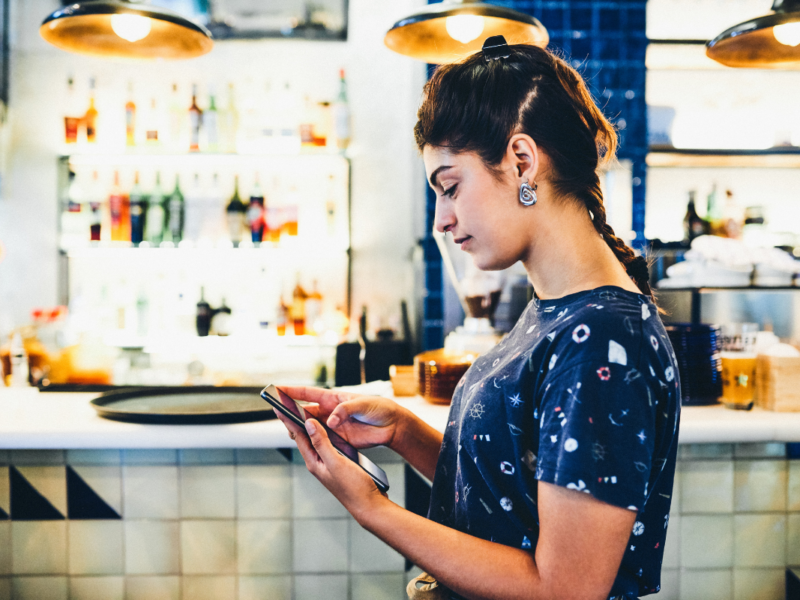 Technology-led hospitality experience