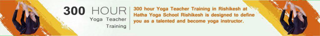300 hour Yoga Teacher Training in Rishikesh | Hatha Yoga School