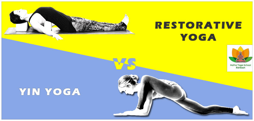 Difference between yin yoga and restorative yoga