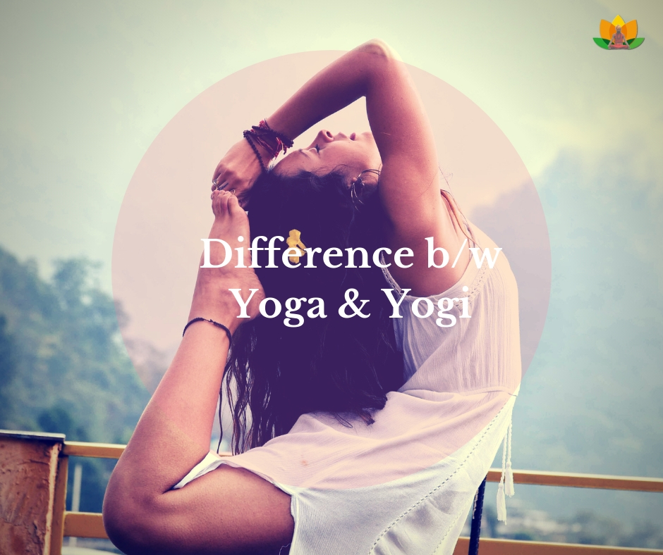 difference between yoga and yogi