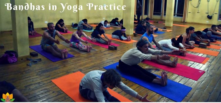 Bandhas in Yoga practice