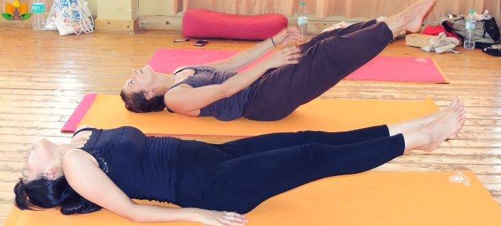 yoga for a slim body