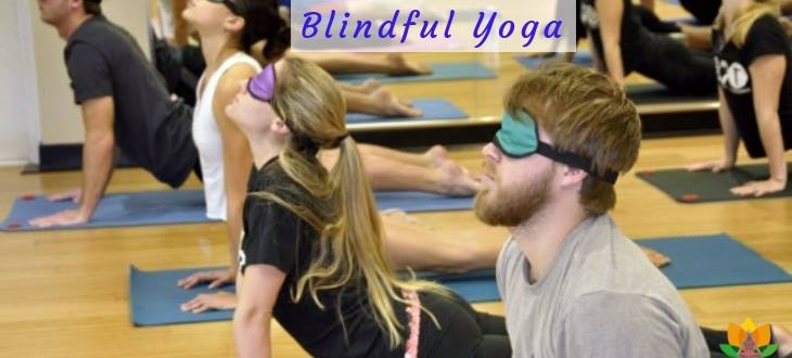 What is blindfolded yoga