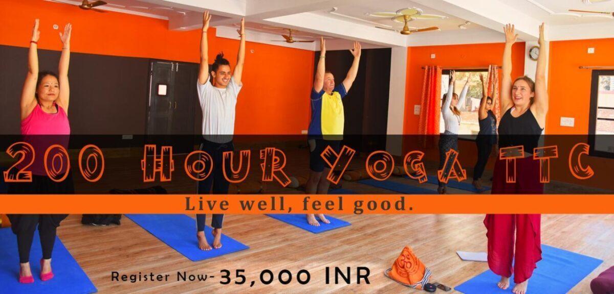 200 Hour Yoga TTC Hatha Yoga School Rishikesh