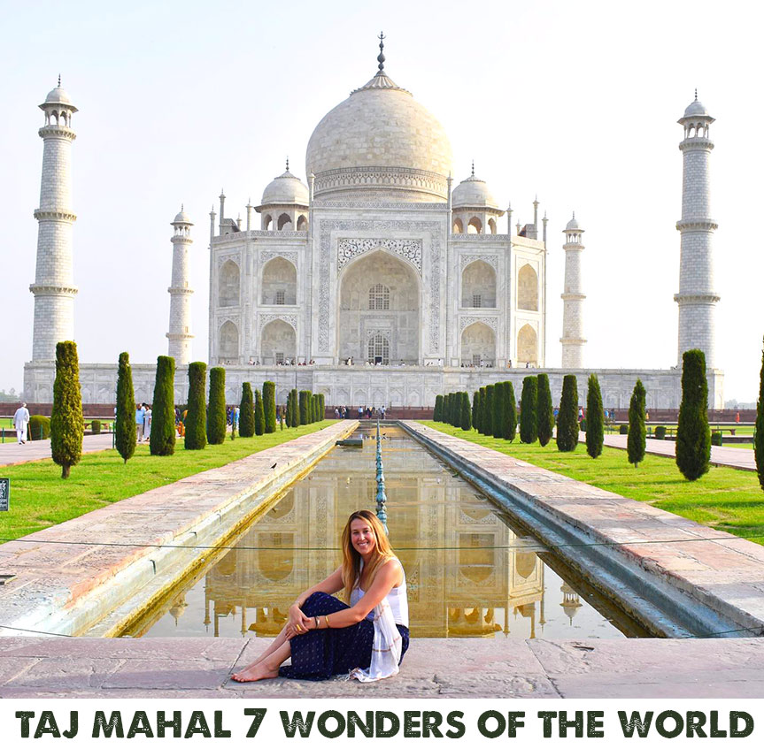 Travel to Taj Mahal India