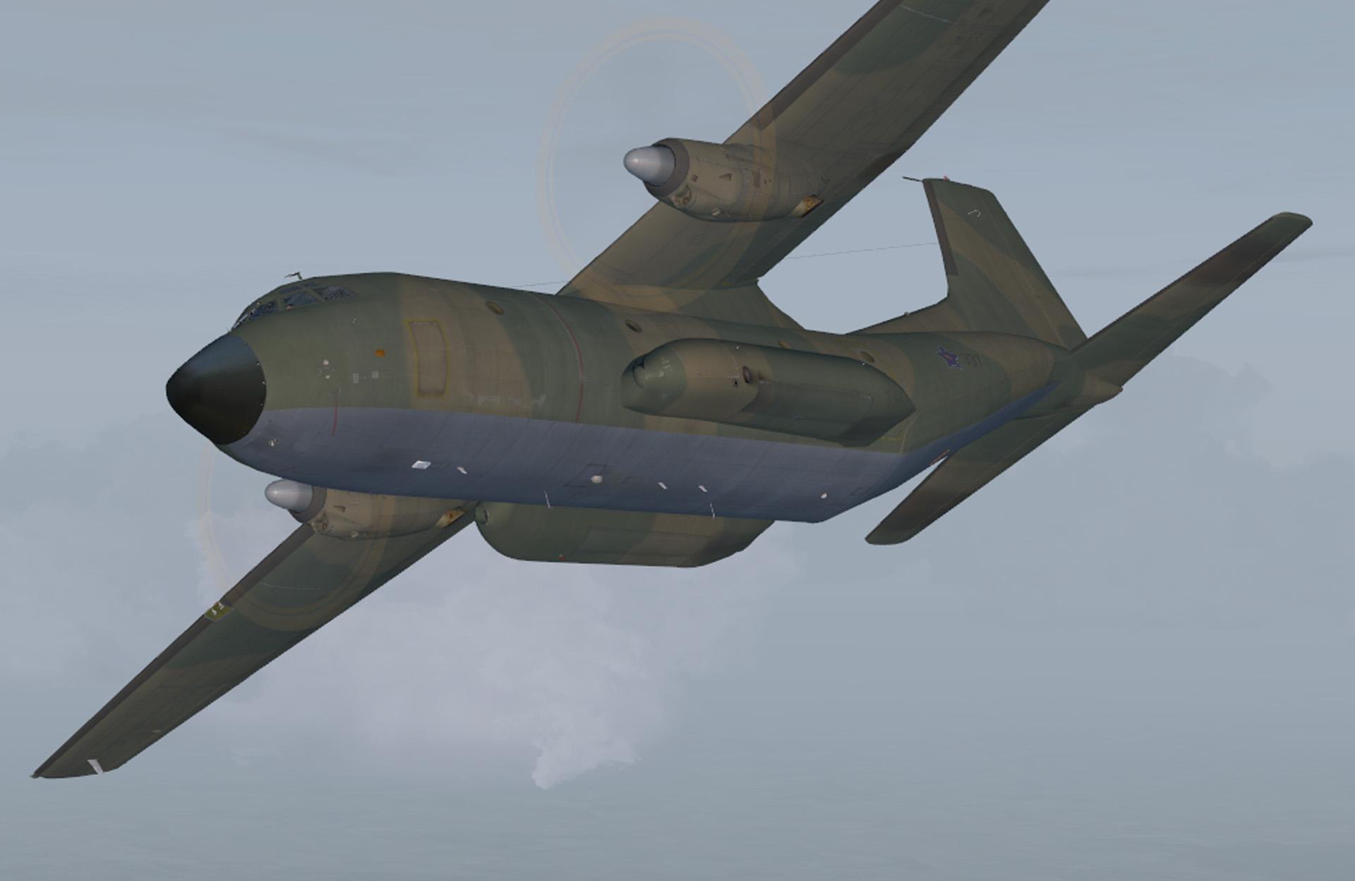 JSS Simulations Transall C-160