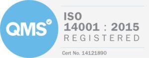 ISO 14001 2015 Badge