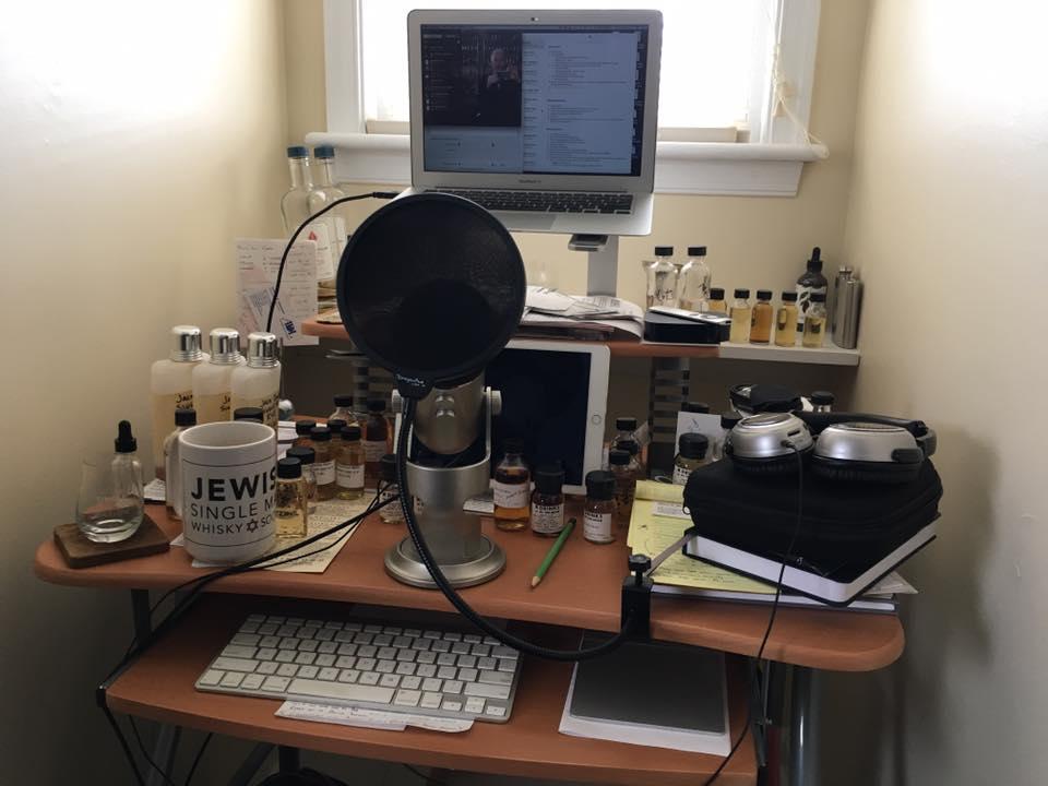 One Nation Under Whisky Messy Desk