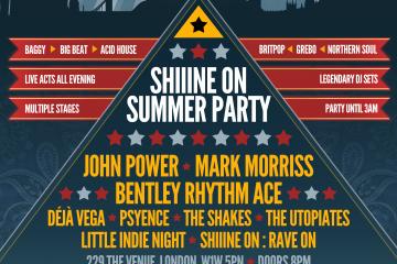 Shiiine On : Bentley Rhythm Ace, John Power, Mark Morriss + More