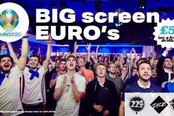 Big Screen Euros – 2021