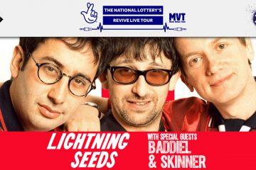 LIGHTNING SEEDS with BADDIEL & SKINNER REVIVE LIVE