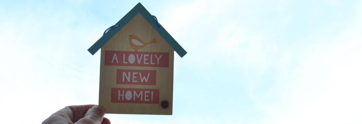 Web Banner, Wooden Decoration, A lovely new home