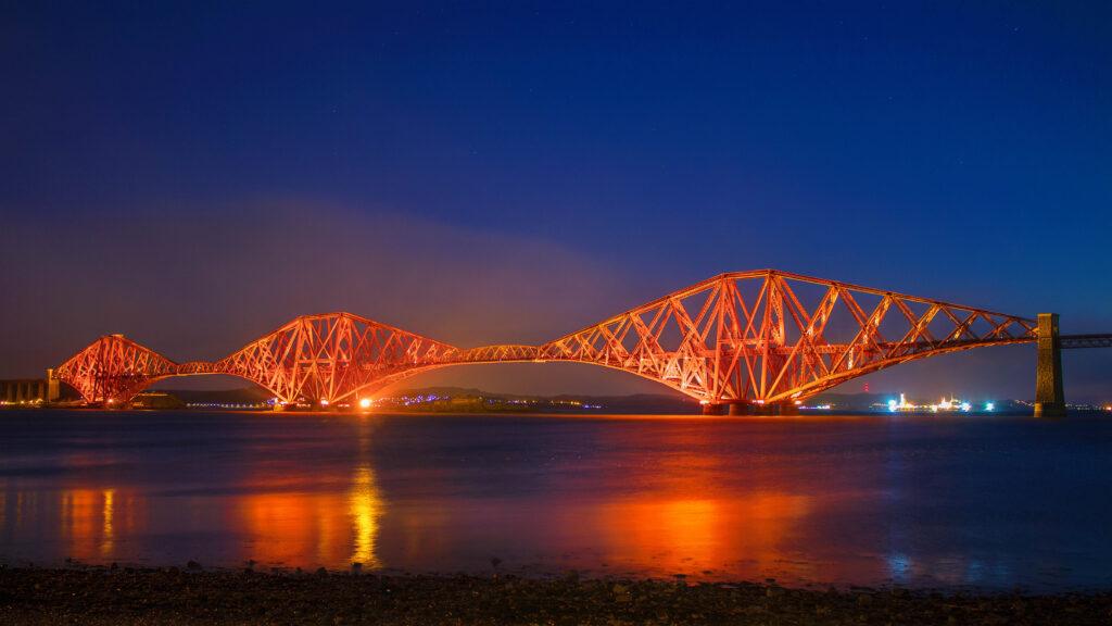 21 - The Forth Rail Bridge At Sunrise.jpg
