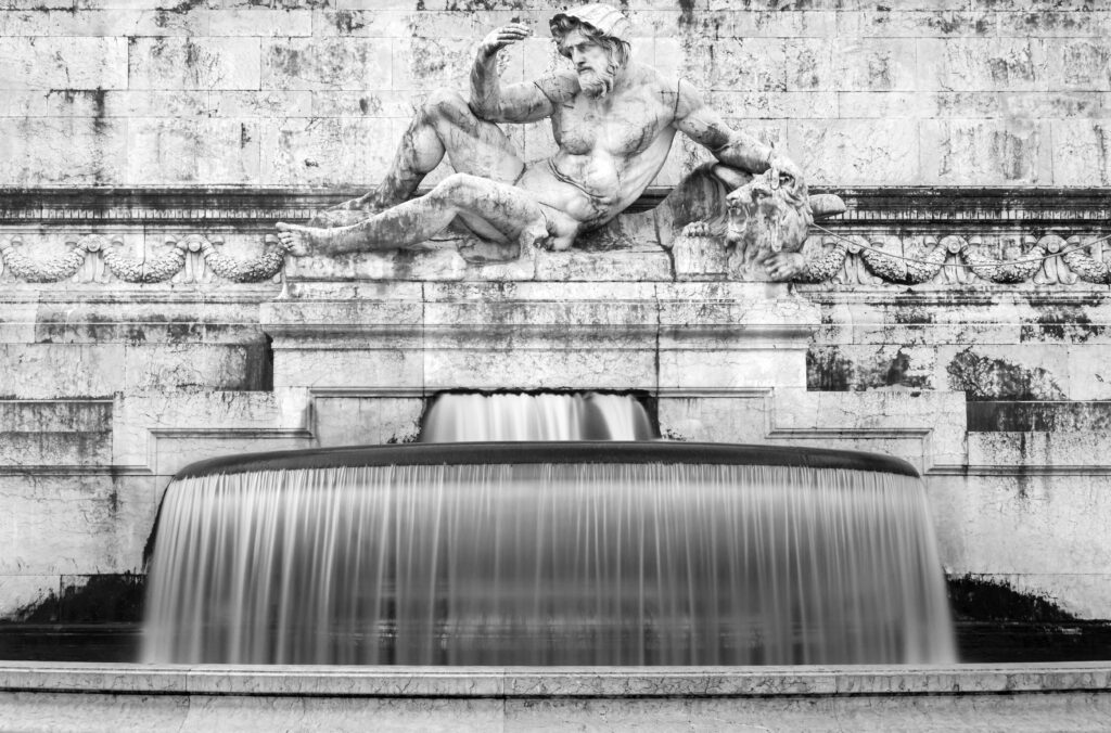 46 - The Fountain Of The Adriatic Sea 1 (b&w).jpg