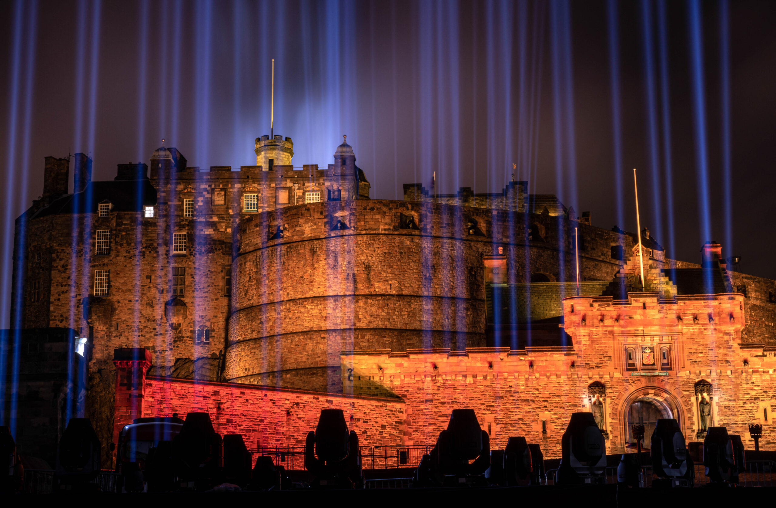 My Light Shines On Edinburgh Castle