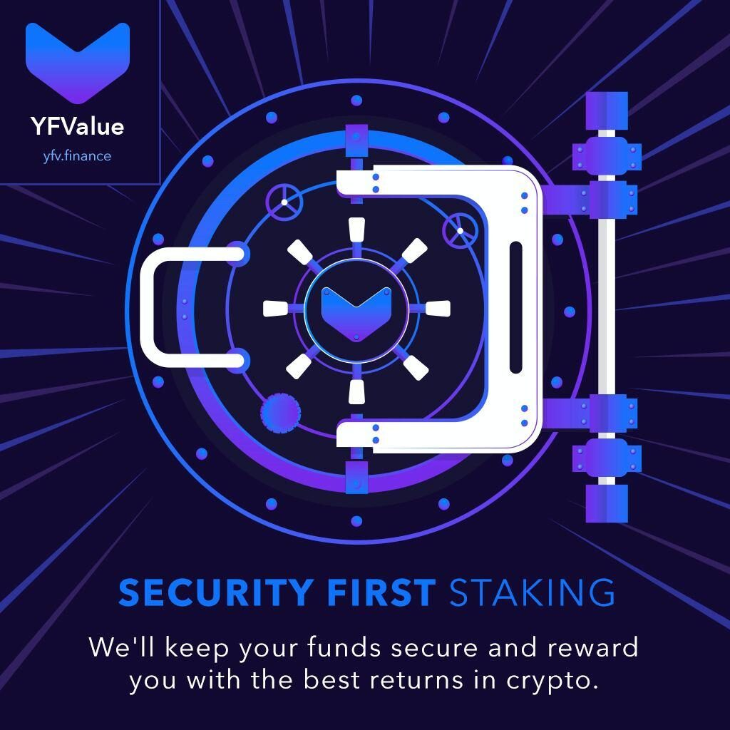 Value DeFi Security First Staking