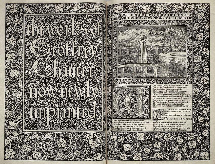 Kelmscott Press Chaucer