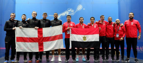 Team England capture silver at the WSF Men's World Team Championships 2019