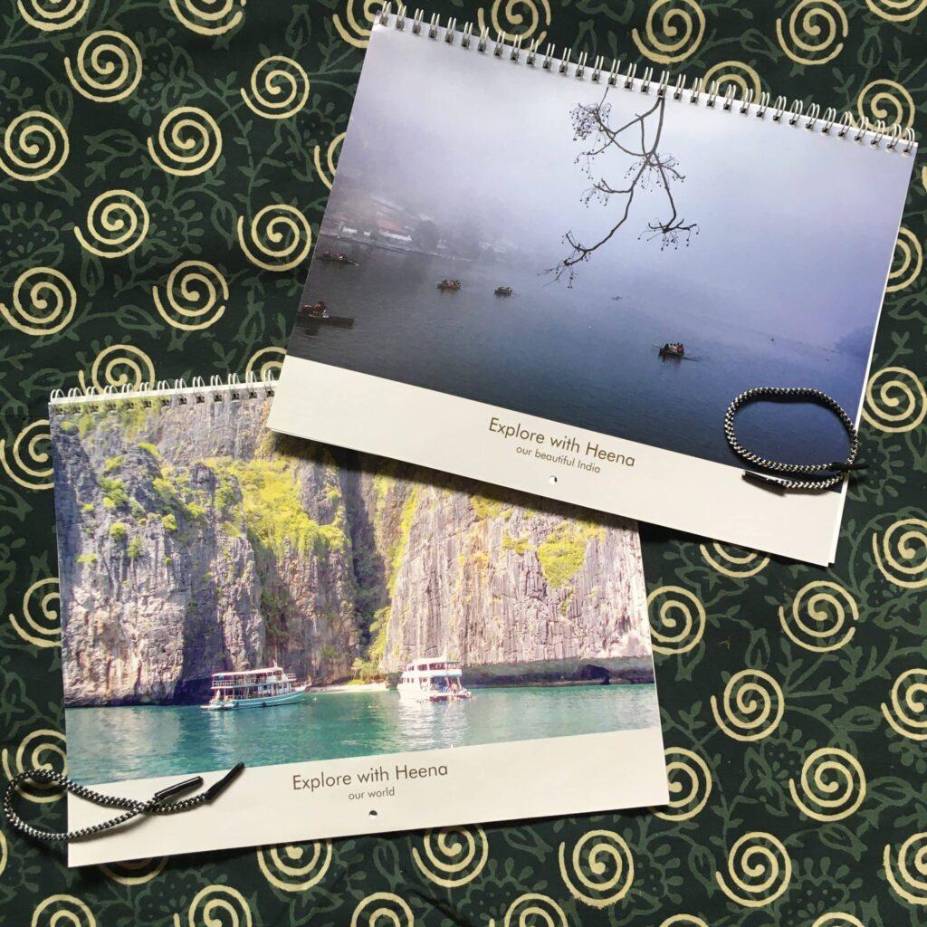 Calendar 2021 by Heenas.in